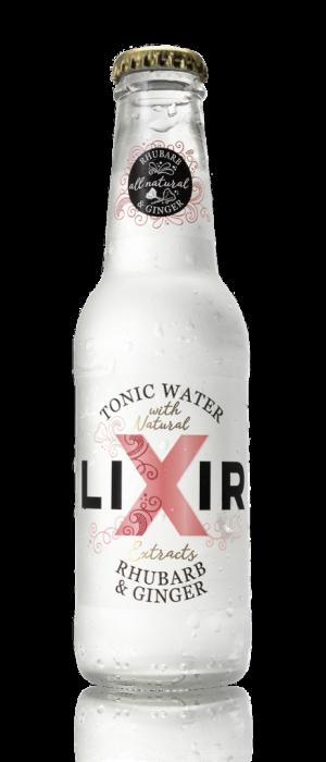 lixir rhubarb and ginger tonic